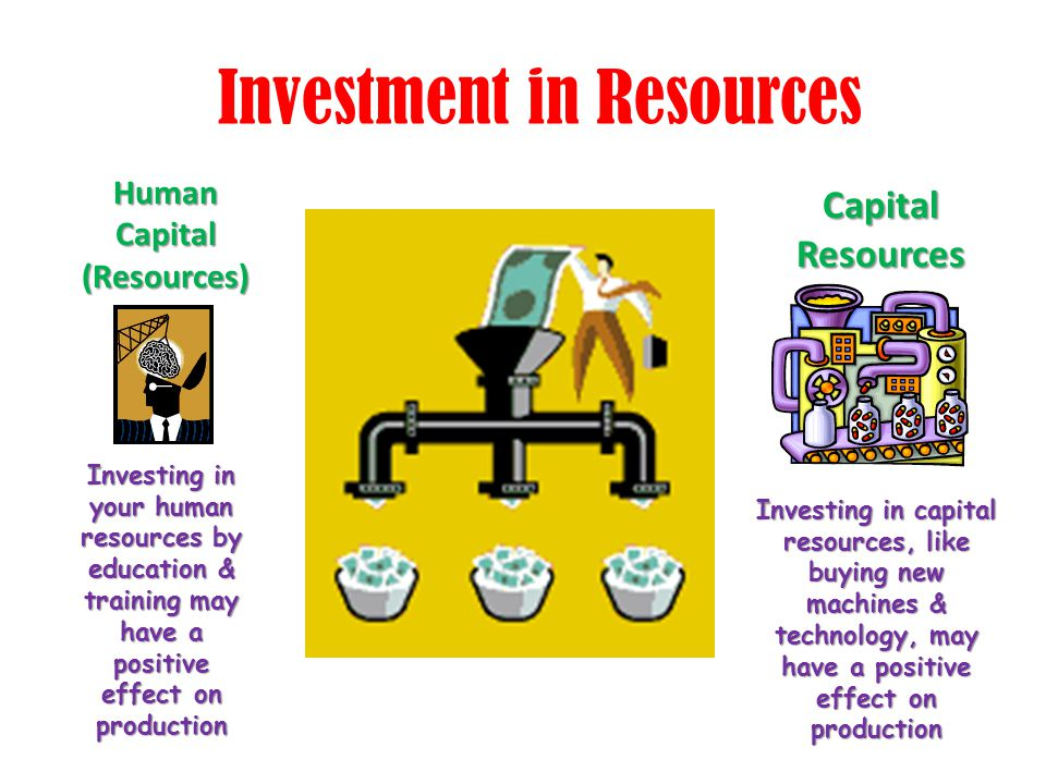 Investment in Resources