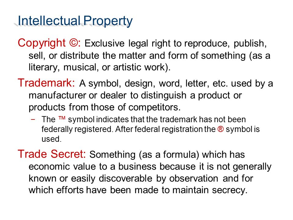 Intellectual Property Ppt Download