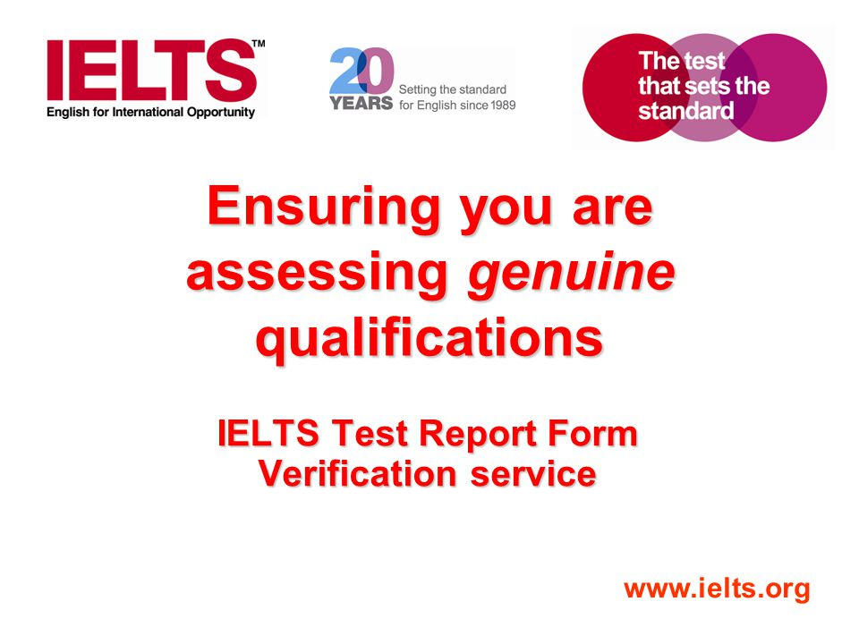 Ensuring you are assessing genuine qualifications