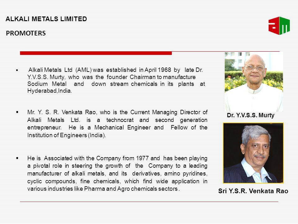 Alkali Metals Limited - Hyderabad, India