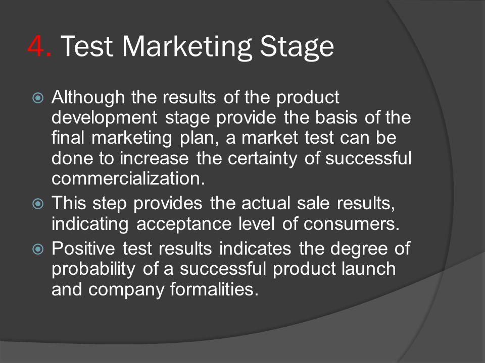 4. Test Marketing Stage