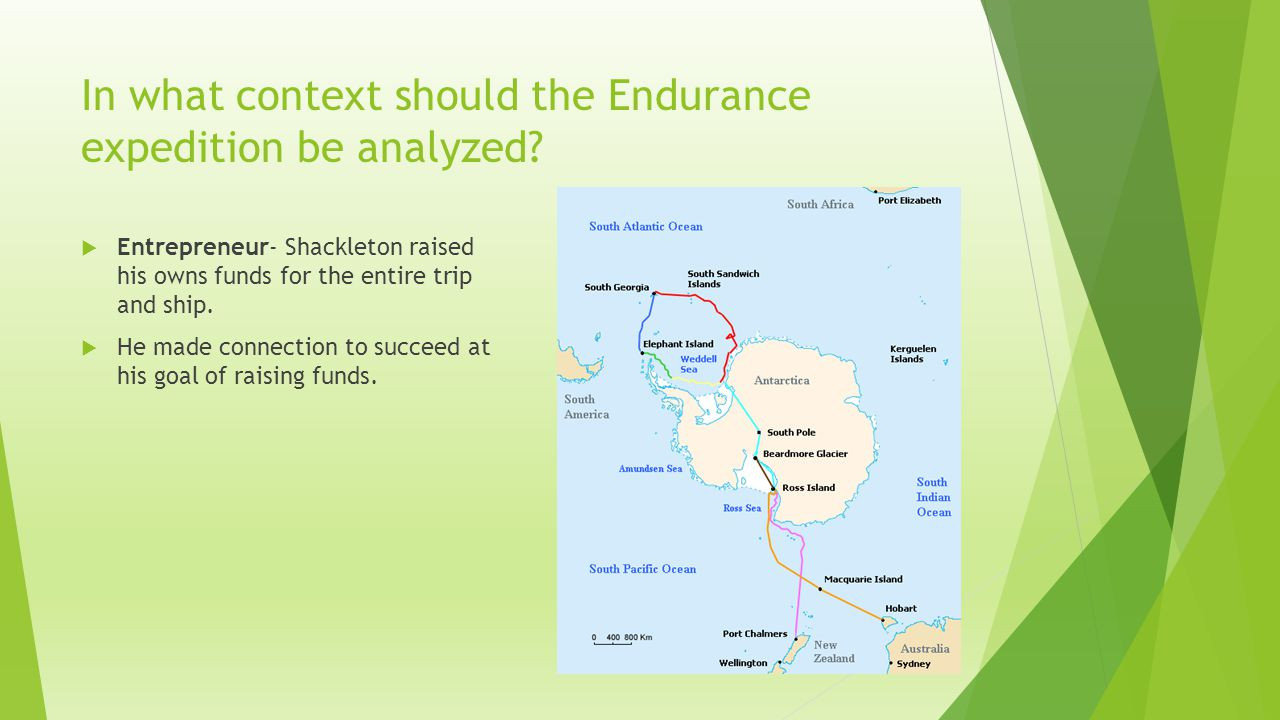 In what context should the Endurance expedition be analyzed