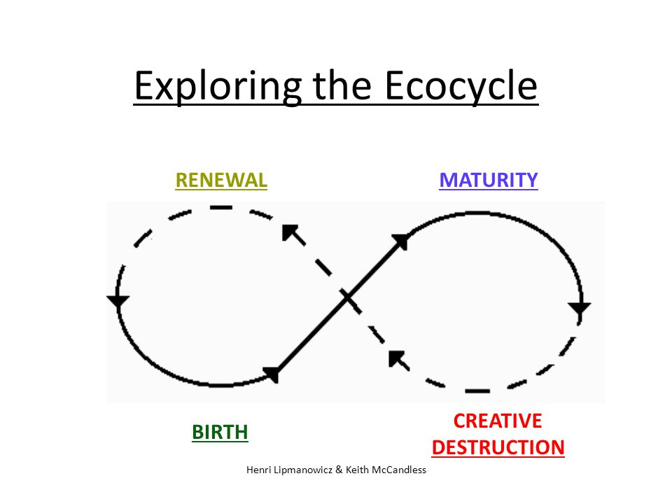Exploring the Ecocycle