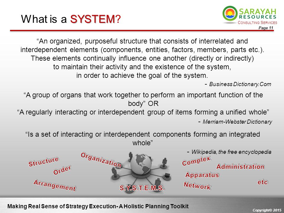 What is a SYSTEM - Merriam-Webster Dictionary