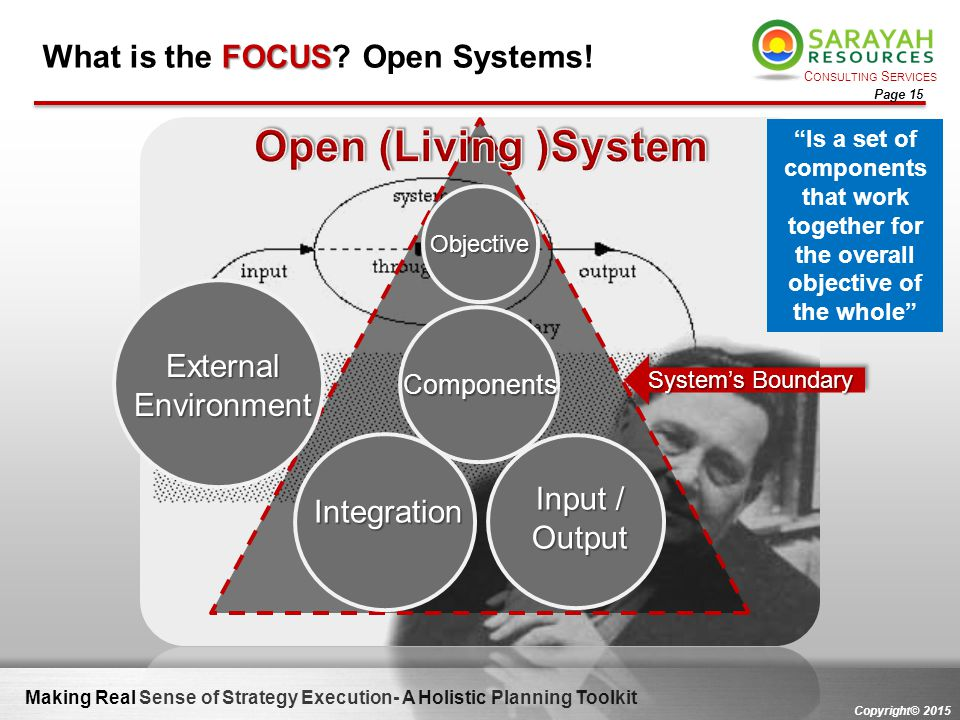 What is the FOCUS Open Systems!