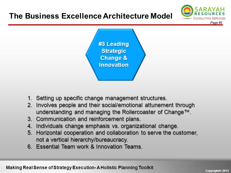#3 Leading Strategic Change & Innovation