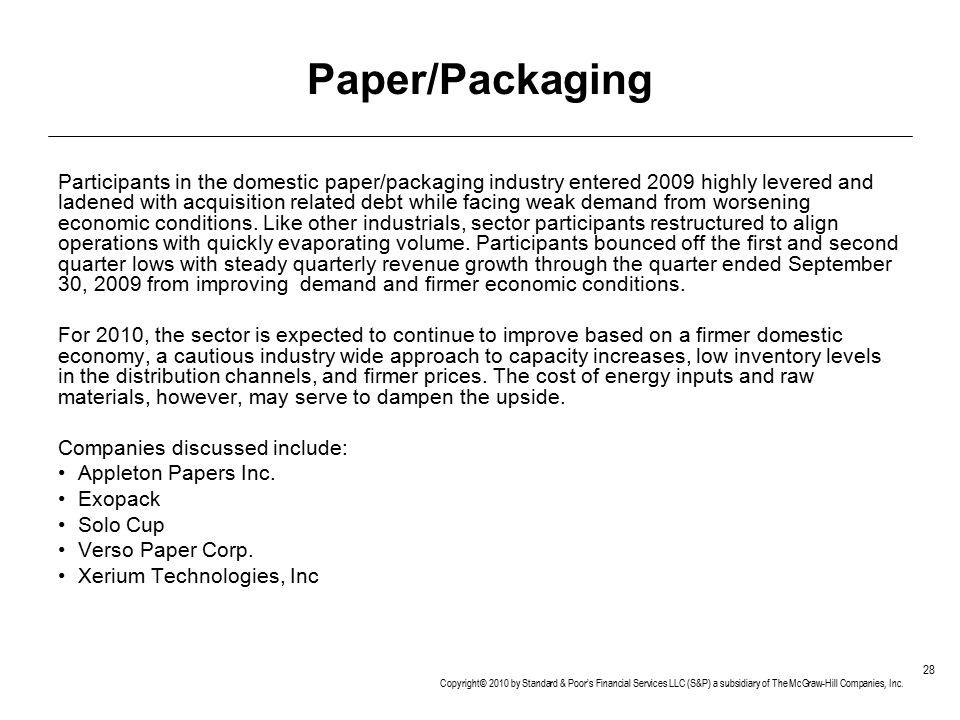 Paper/Packaging