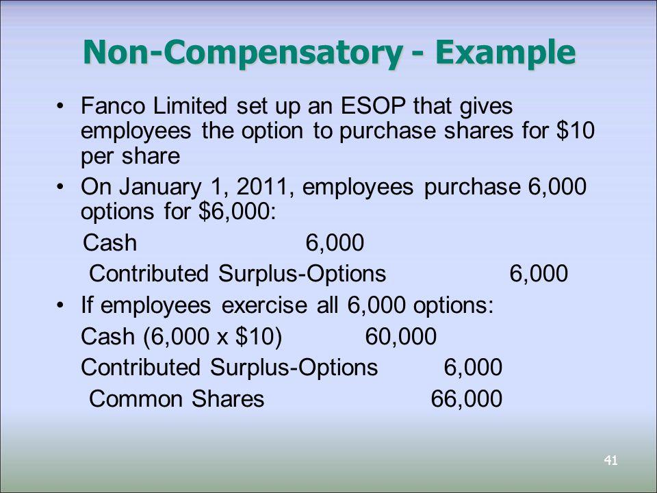 Non-Compensatory - Example