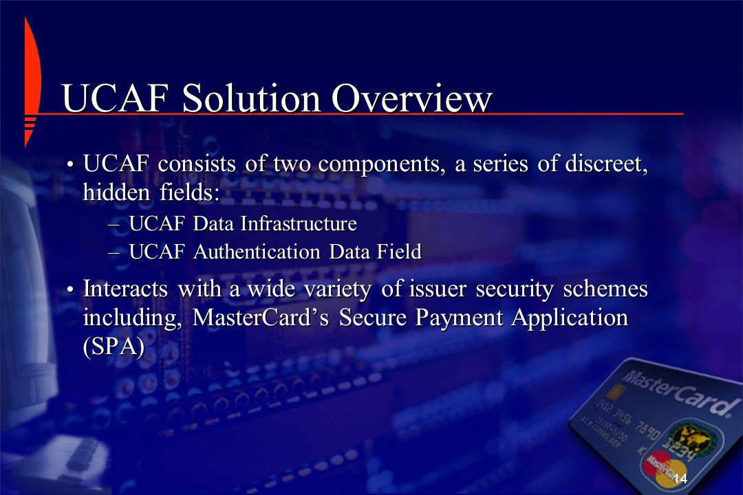 UCAF Solution Overview