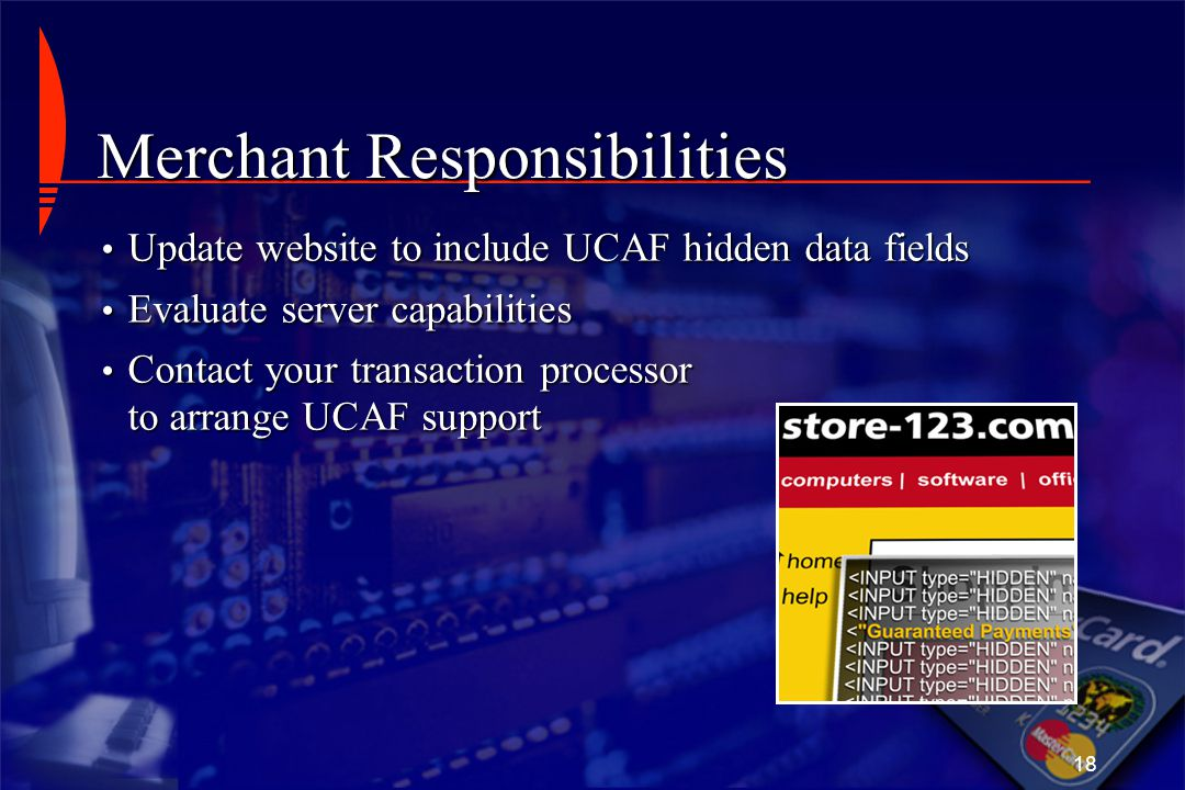 Merchant Responsibilities