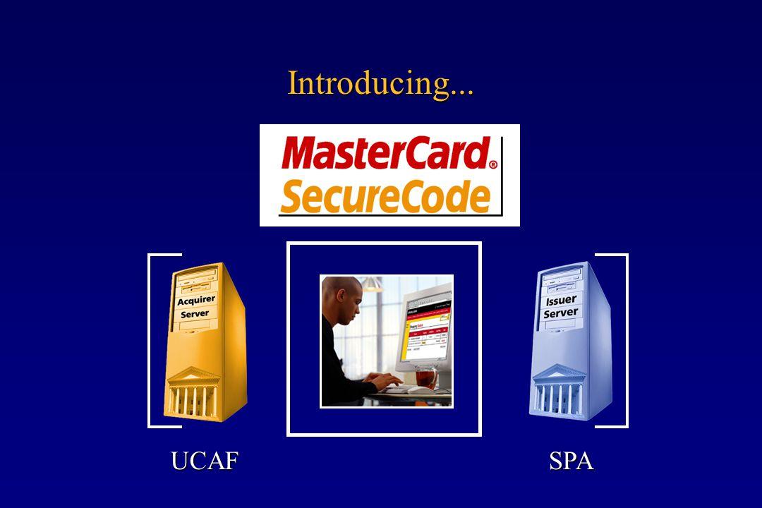 Introducing... UCAF SPA
