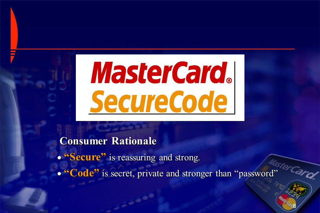 Consumer Rationale Secure is reassuring and strong.