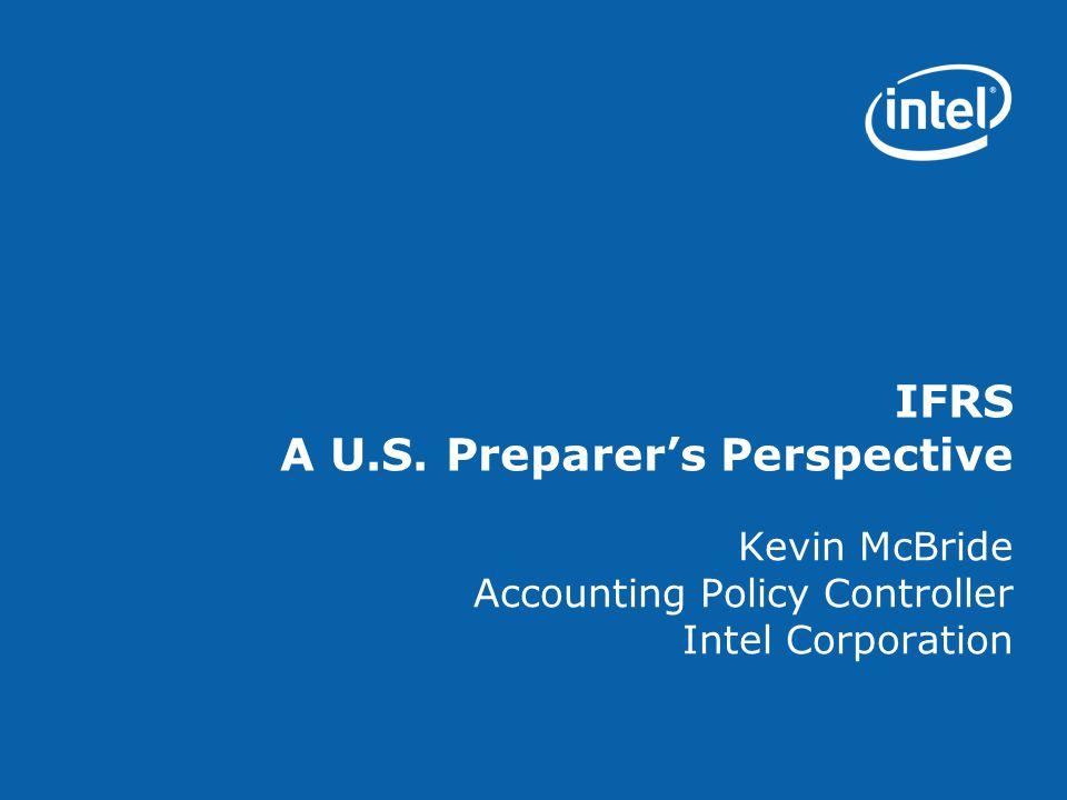 IFRS A U.S. Preparer's Perspective