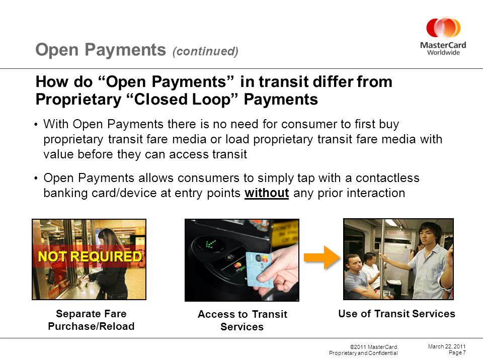 Open Payments (continued)