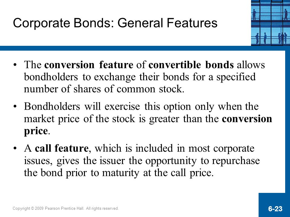 Corporate Bonds: General Features