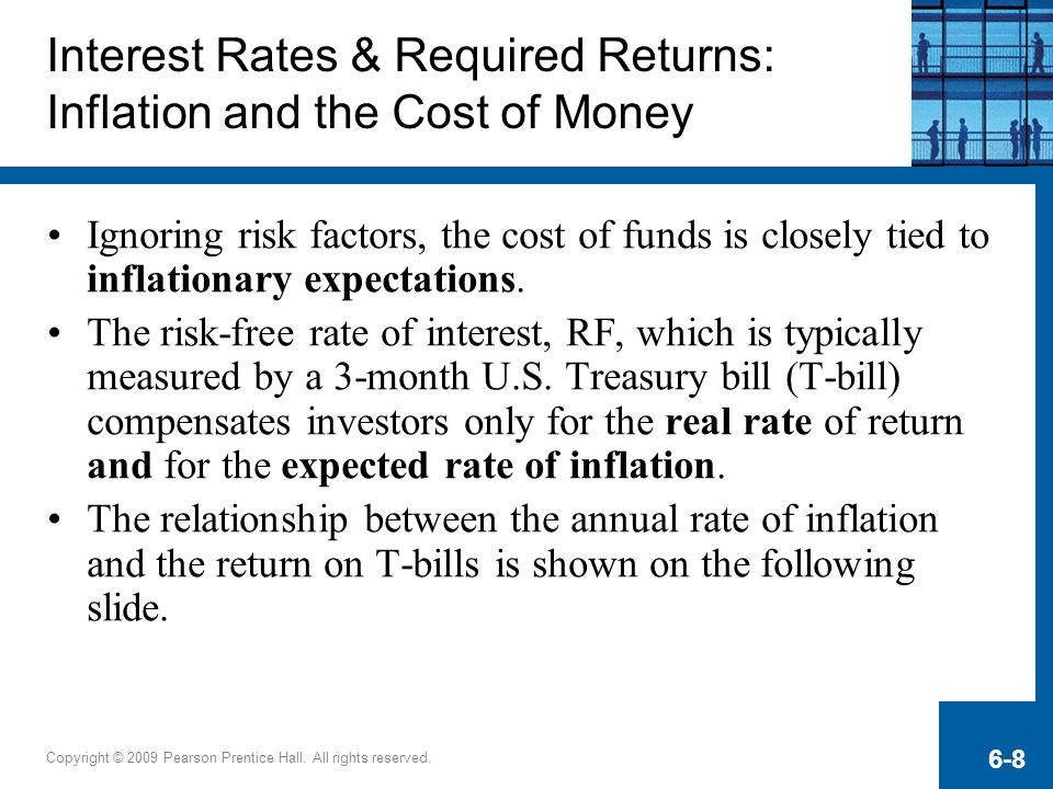 Interest Rates & Required Returns: Inflation and the Cost of Money