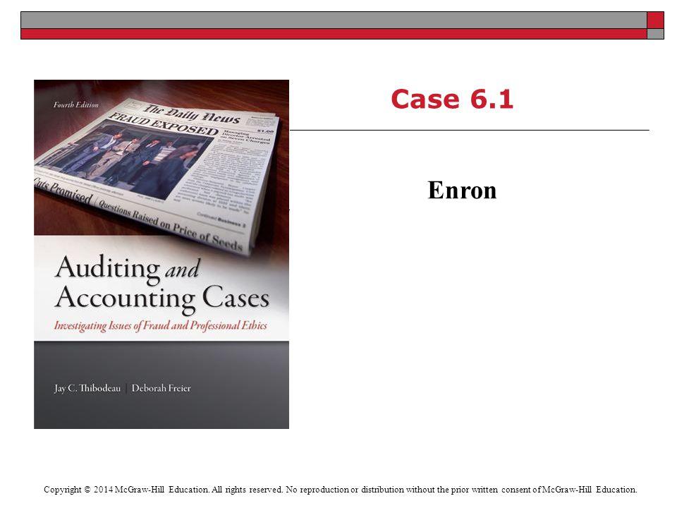 Case 6.1 Enron.