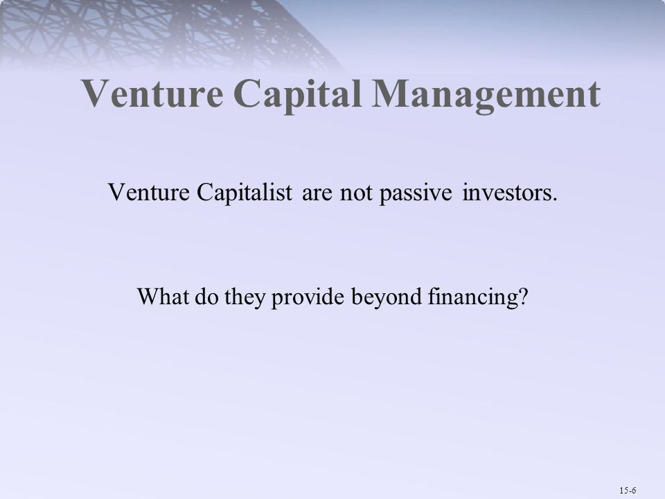 Venture Capital Management