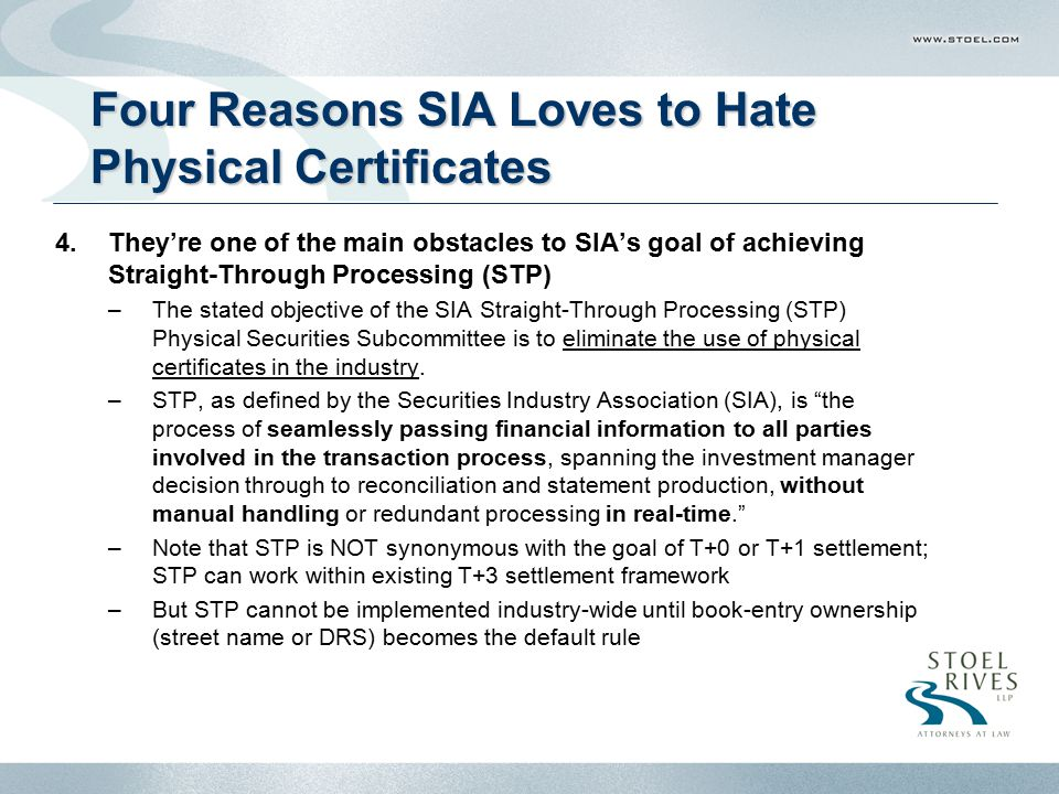 Four Reasons SIA Loves to Hate Physical Certificates