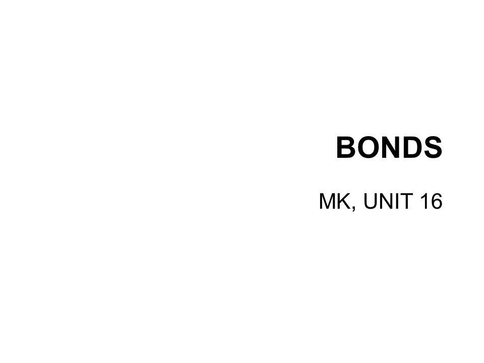 BONDS MK, UNIT 16
