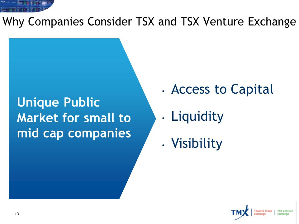 Why Companies Consider TSX and TSX Venture Exchange