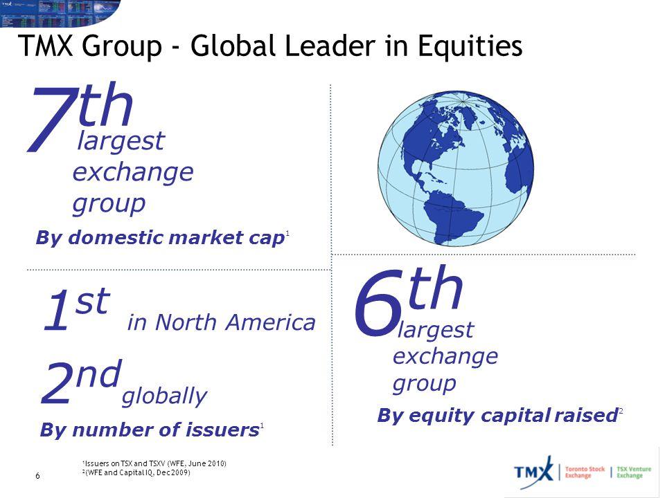 TMX Group - Global Leader in Equities