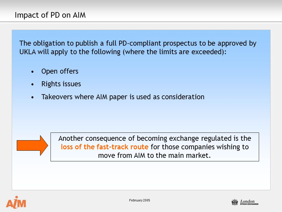 Impact of PD on AIM
