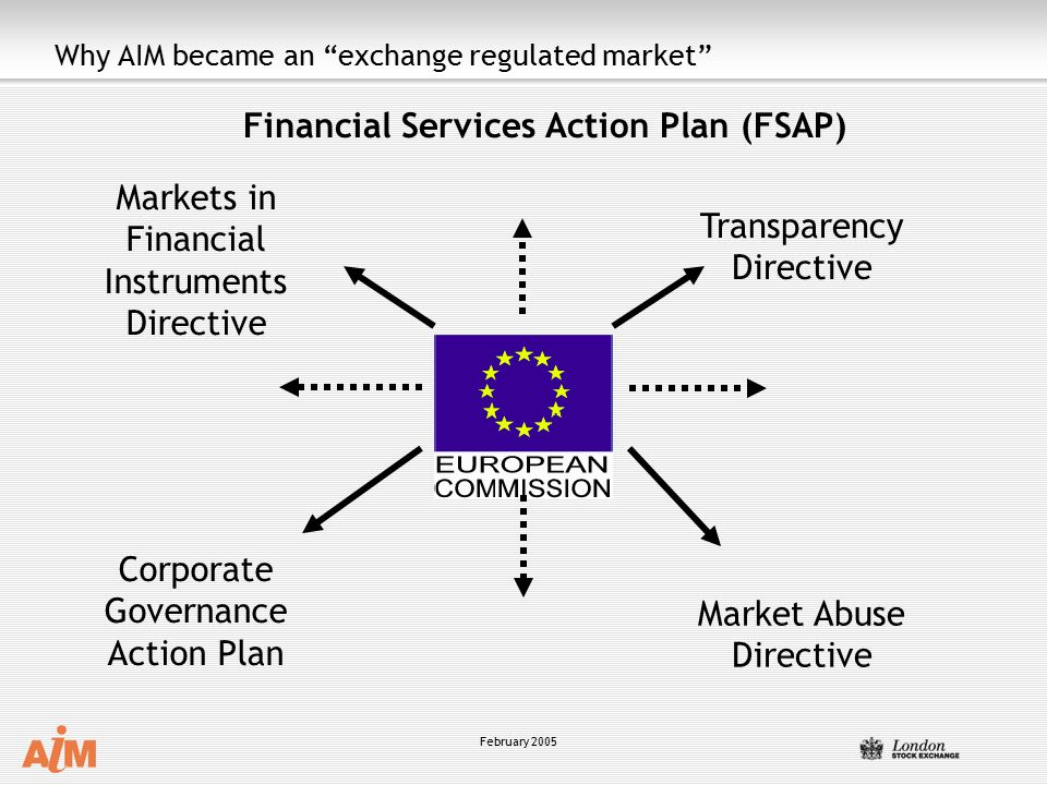 Why AIM became an exchange regulated market
