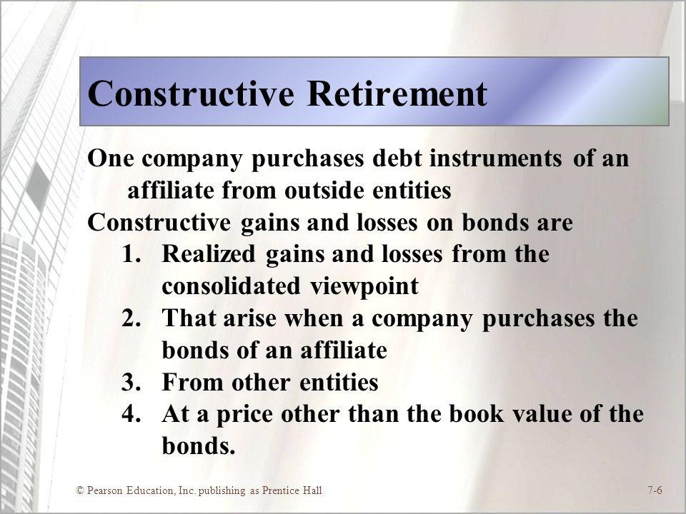 Constructive Retirement