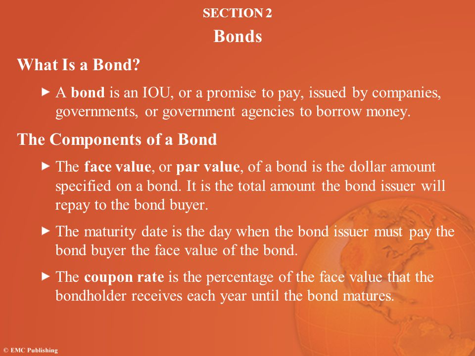 The Components of a Bond