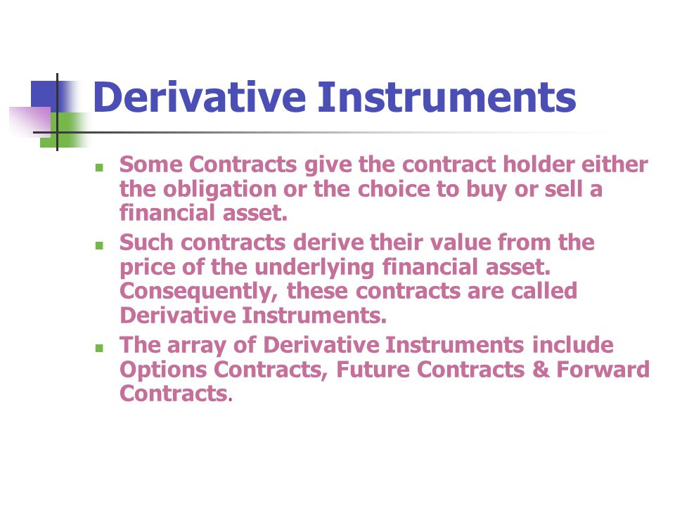 Derivative Instruments