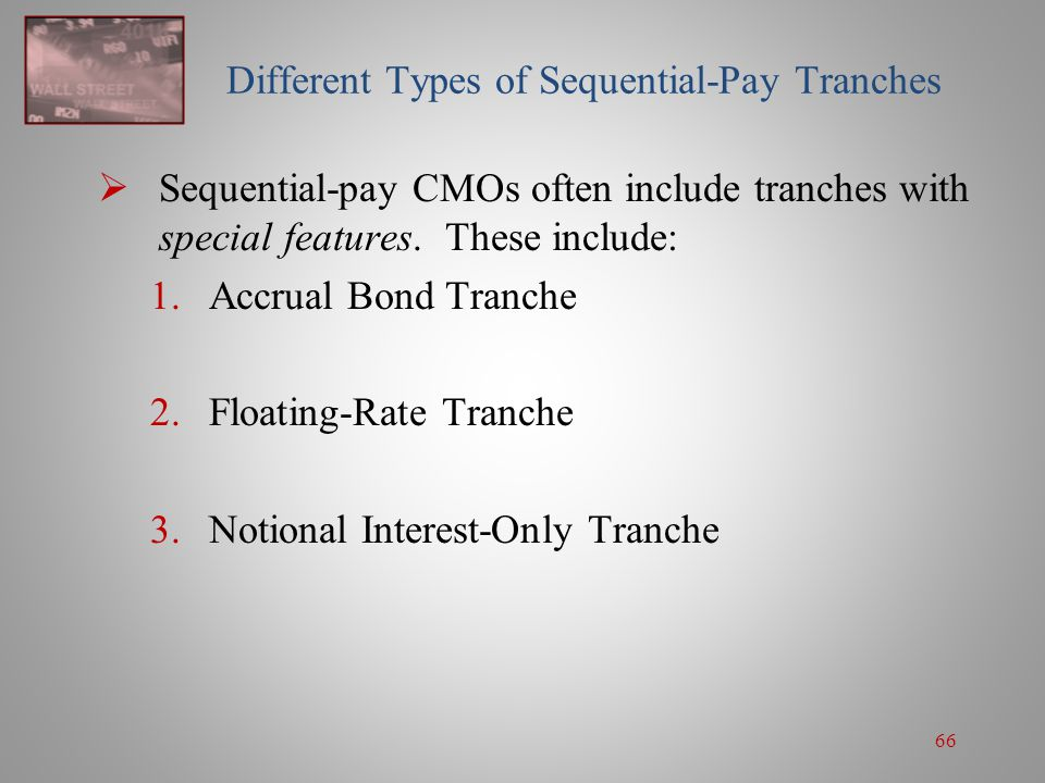 Different Types of Sequential-Pay Tranches