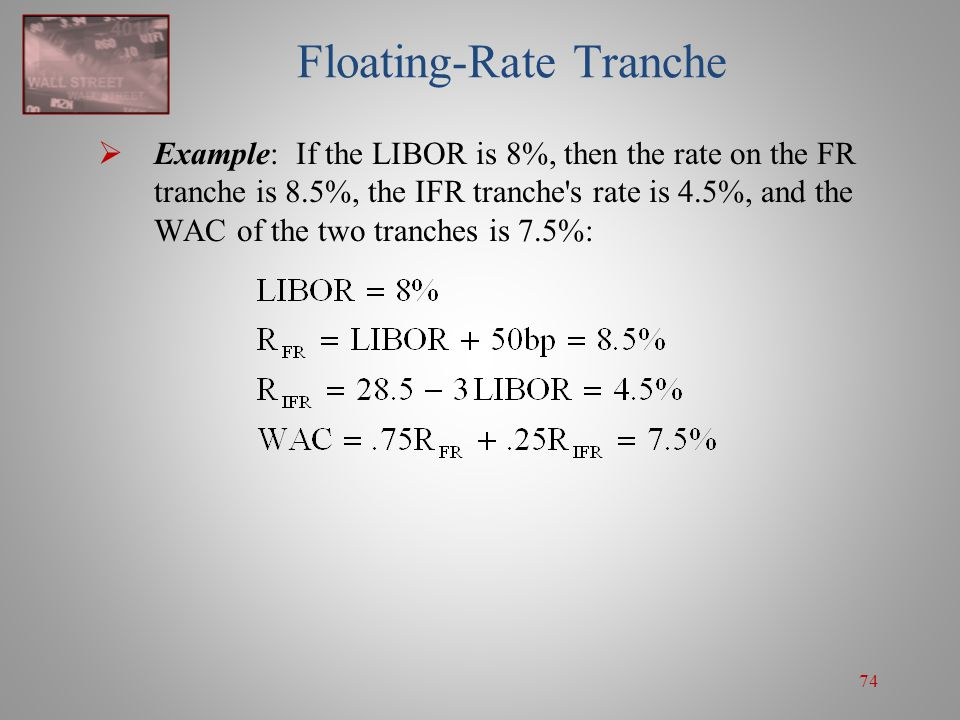 Floating-Rate Tranche