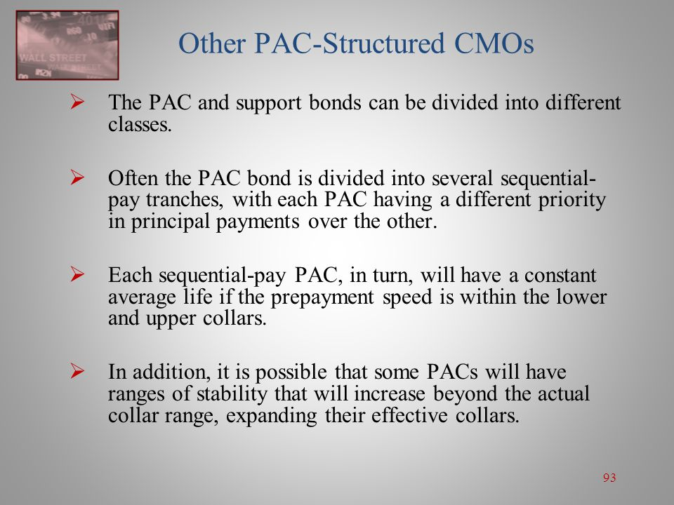 Other PAC-Structured CMOs