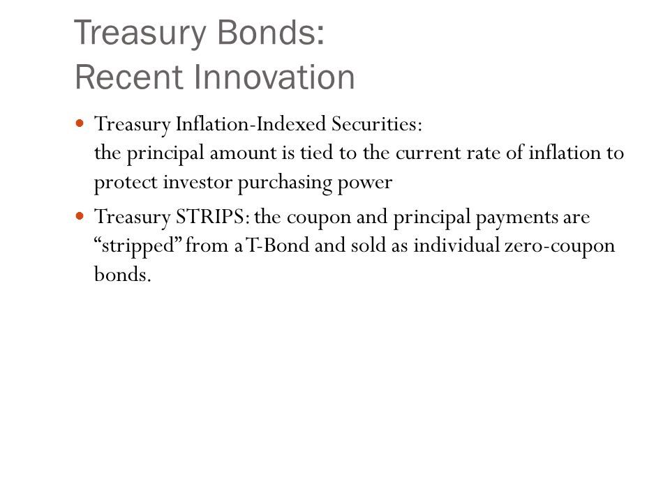 Treasury Bonds: Agency Debt