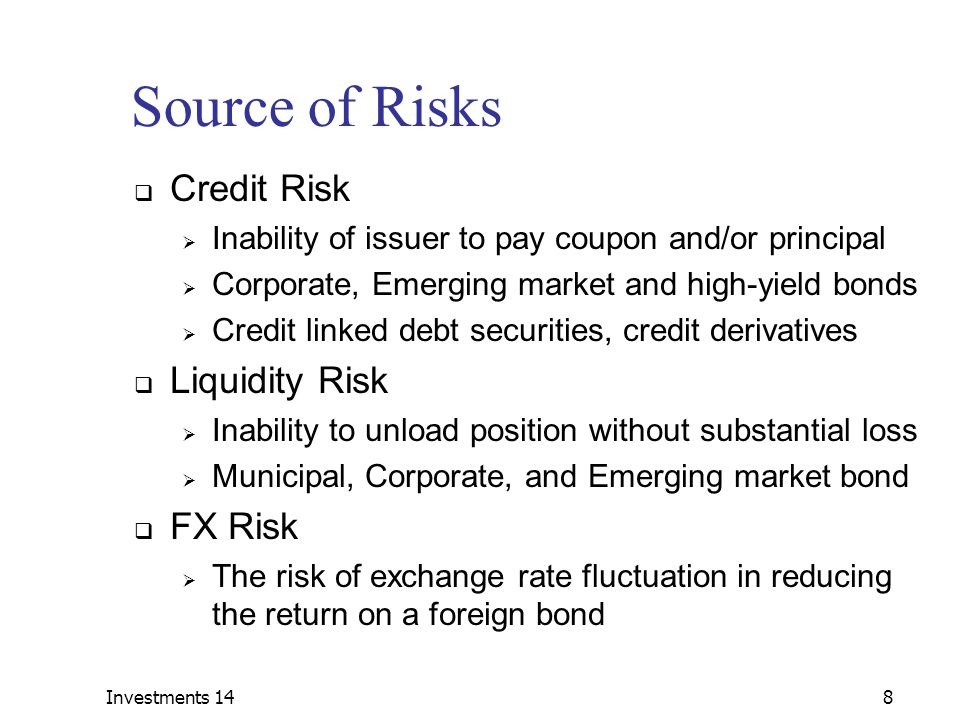 Credit risk on fx options