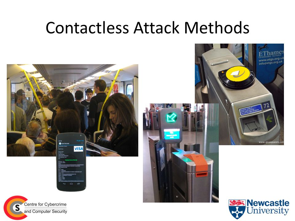 Contactless Attack Methods