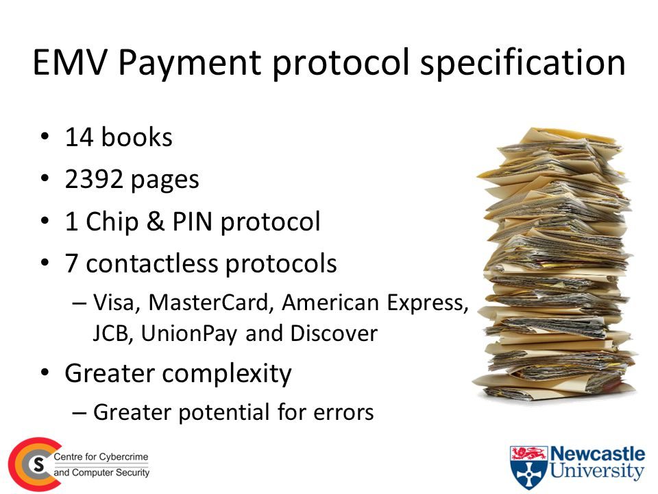 EMV Payment protocol specification