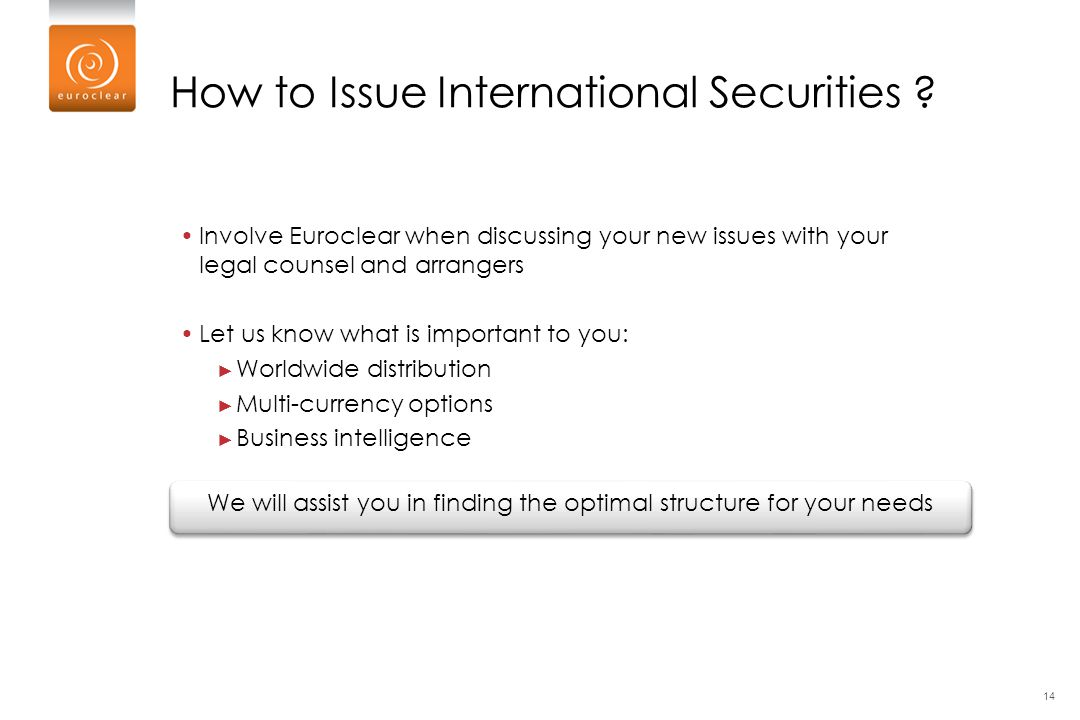 How to Issue International Securities