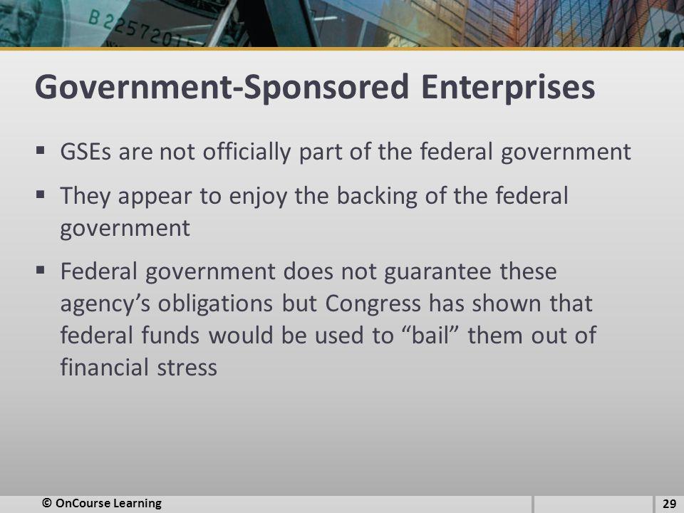 Government-Sponsored Enterprises