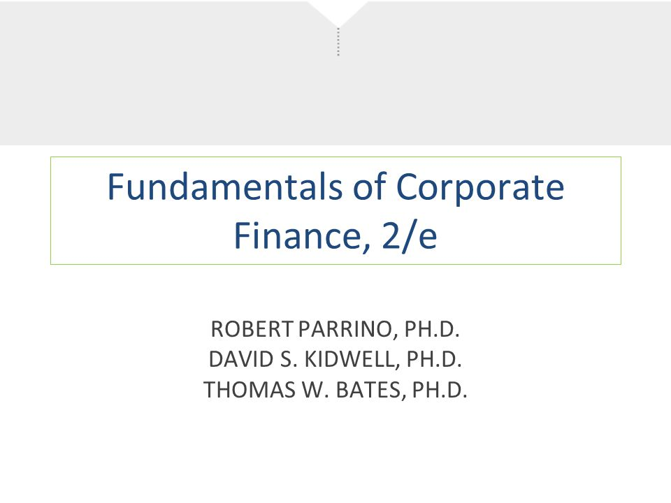 fundamentals of corporate finance Fundamentals of corporate finance, by richard a brealey, stewart c myers and alan j marcus, has been applauded for its modern approach and interesting examples professors praise the authors' well-organized and thoughtful writing style and their clear exposition of what many students consider difficult material.