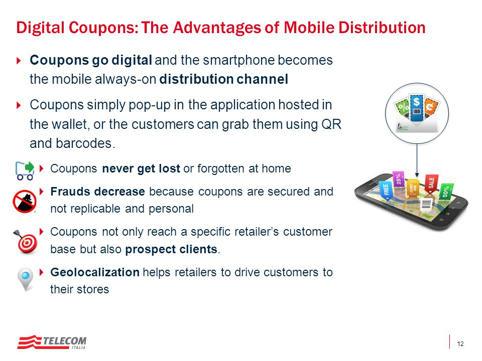 Digital Coupons: The Advantages of Mobile Distribution