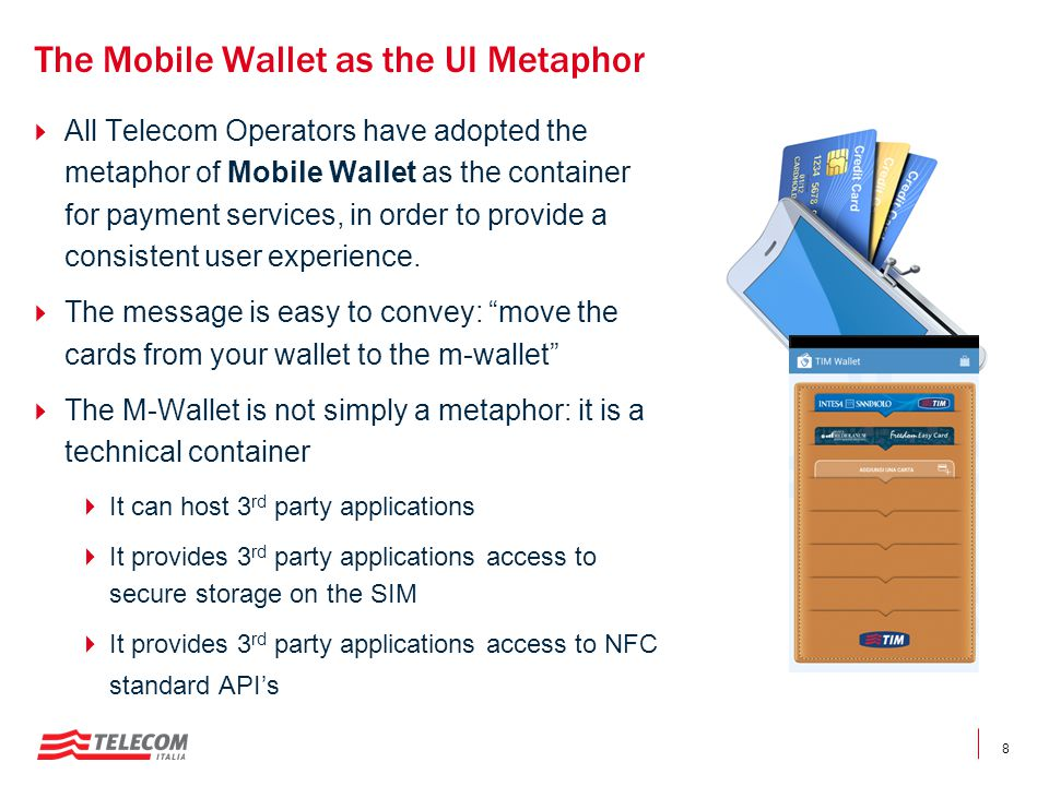 The Mobile Wallet as the UI Metaphor
