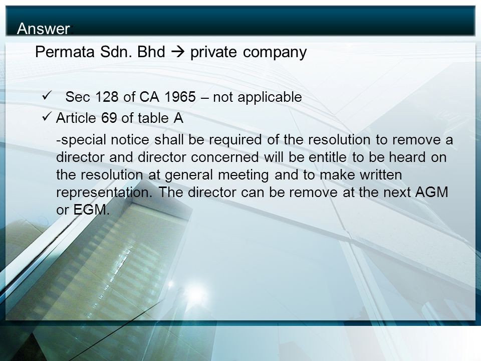 Permata Sdn. Bhd  private company