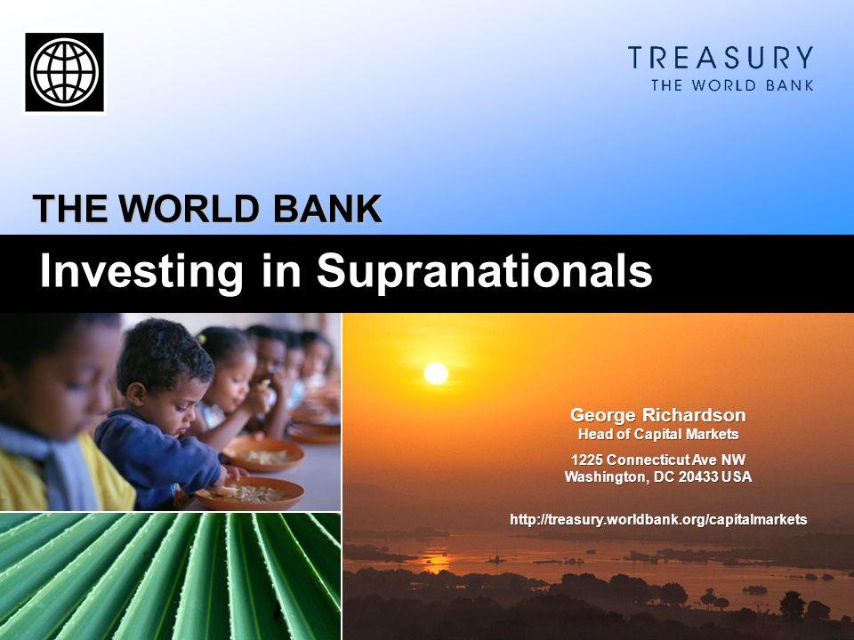 Investing in Supranationals