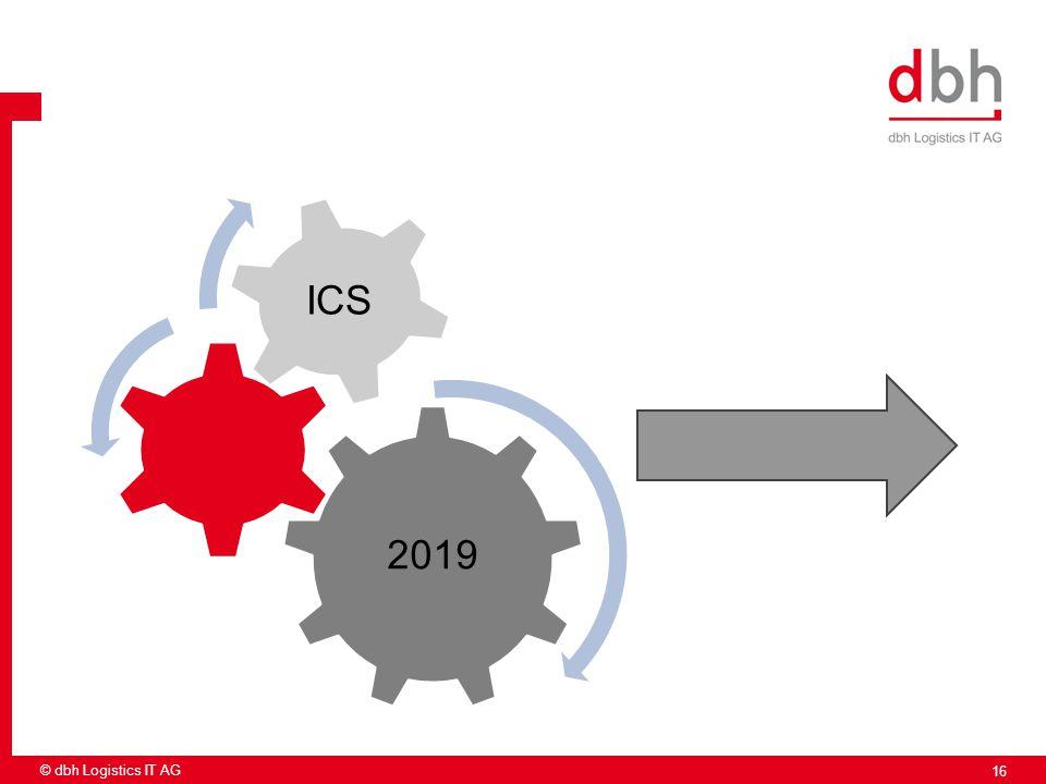 2019 ICS 16 © dbh Logistics IT AG