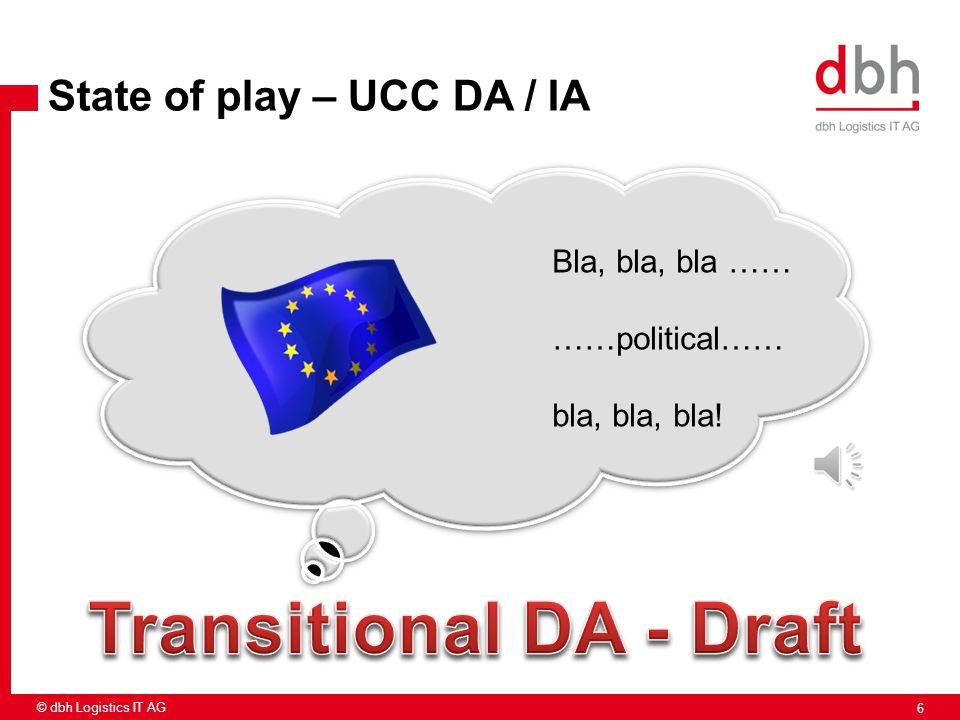 Transitional DA - Draft
