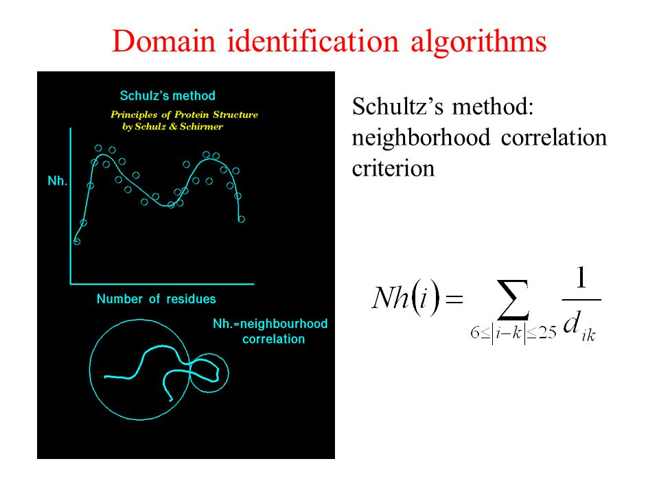 Domain identification algorithms