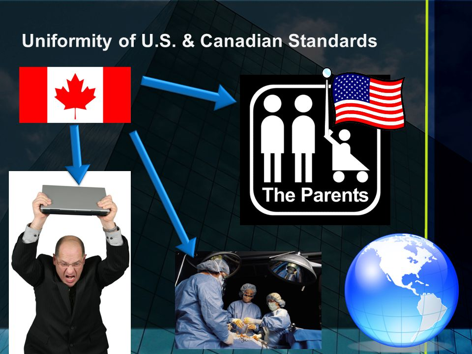 Uniformity of U.S. & Canadian Standards