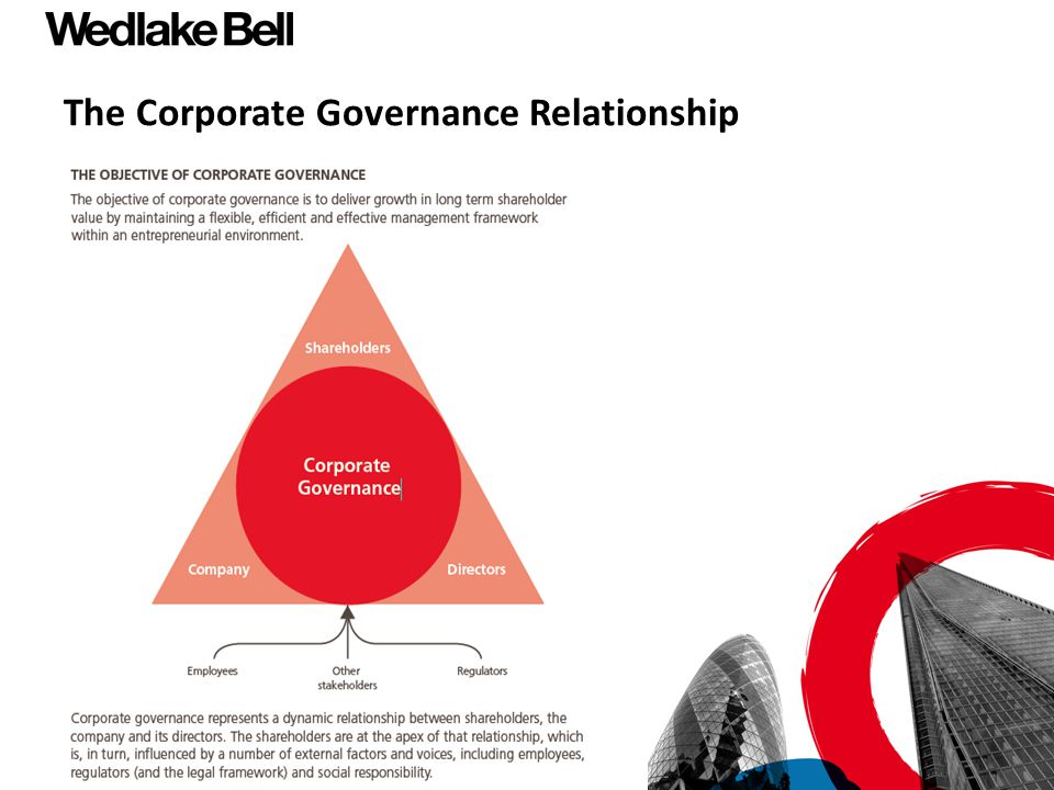 The Corporate Governance Relationship